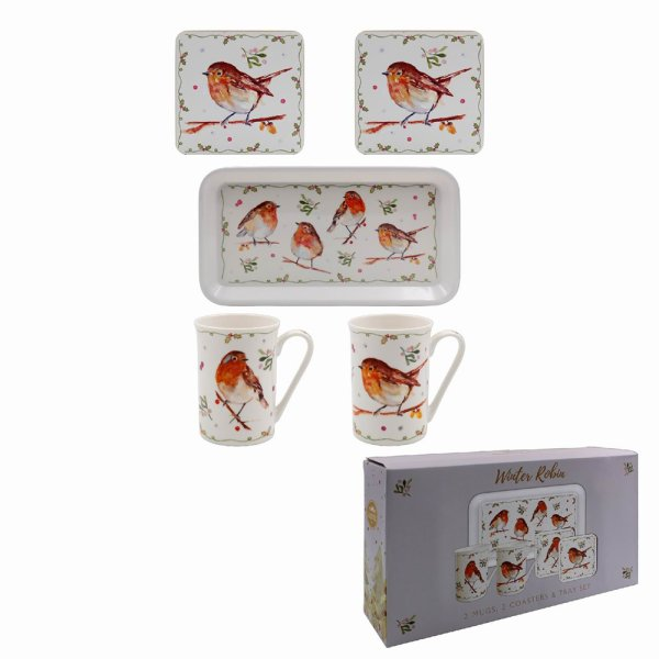 WINTER ROBINS GIFT SET 5 PC