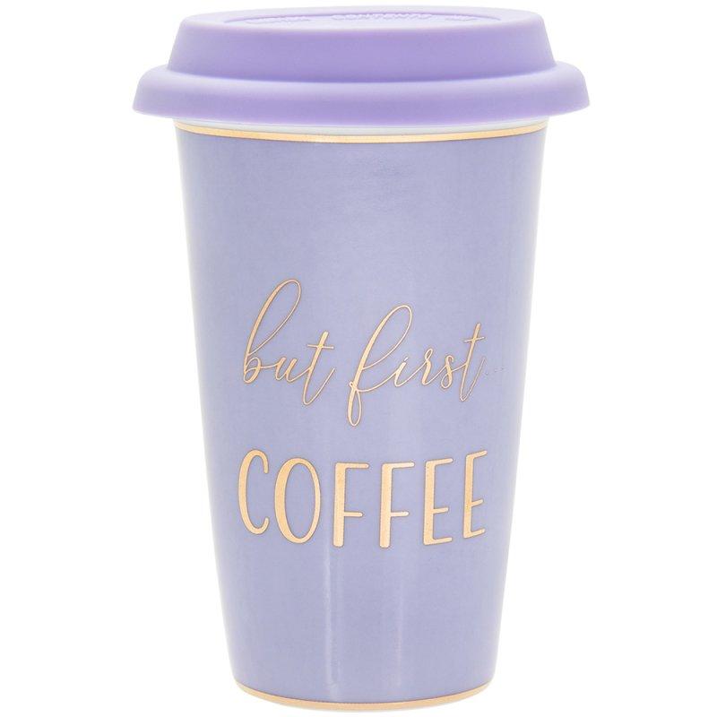 LETS PARTY COFFEE TRAVEL MUG