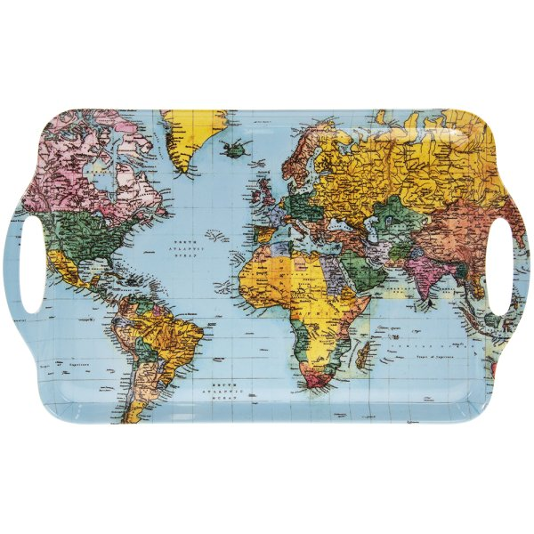 WORLD TRAVELLER LARGE TRAY