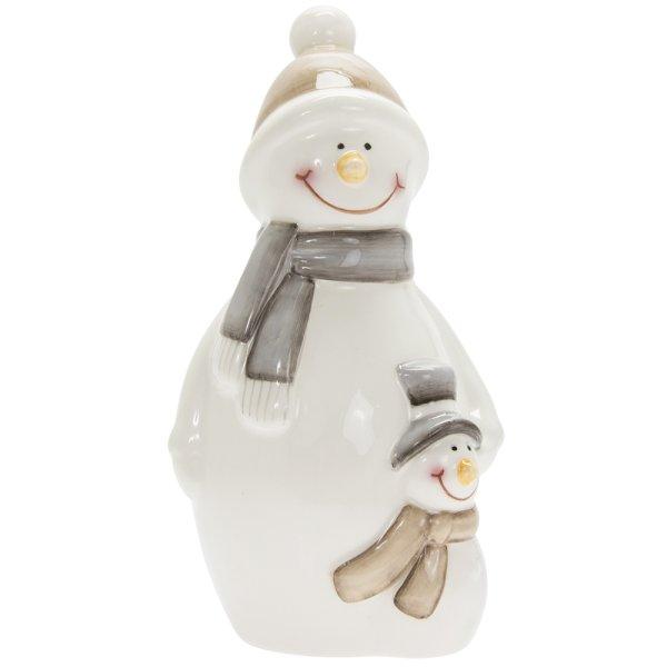 SNOWMAN WHITE LARGE