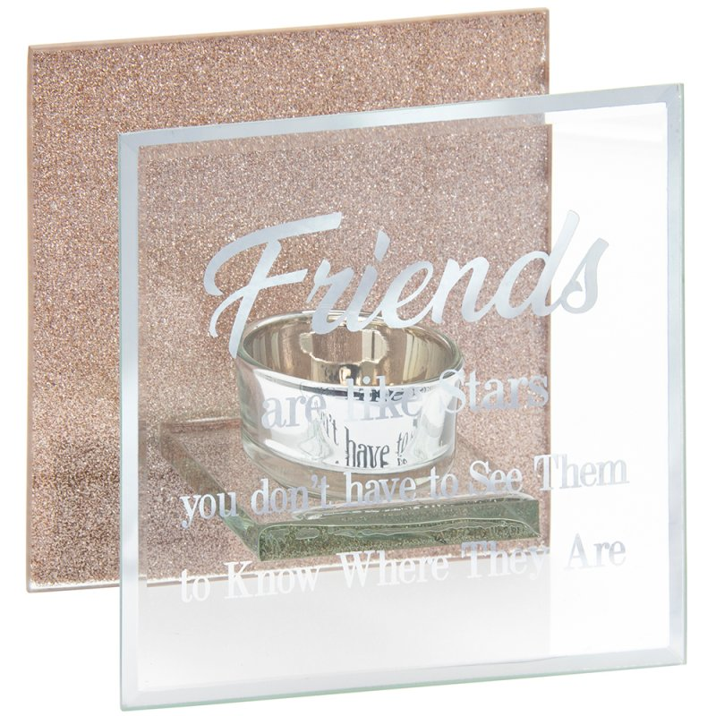SENTIMENTS TEA LIGHT-FRIENDS
