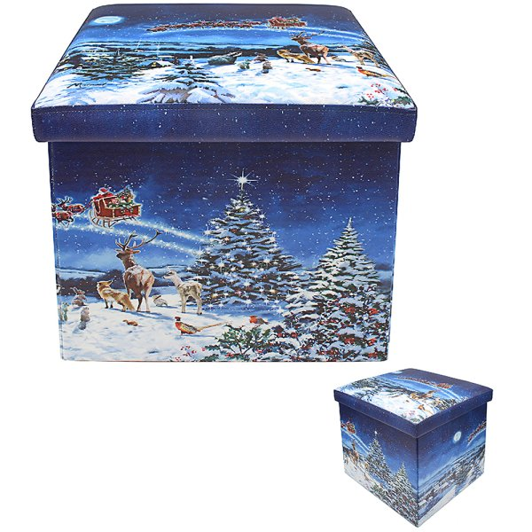 MAGIC OF XMAS FOLD STORAGE BOX