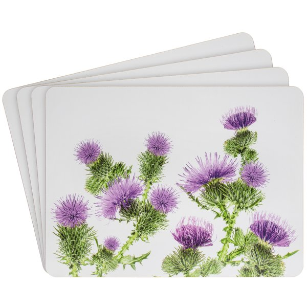 THISTLE PLACEMATS SET OF 4