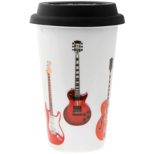 GUITARS TRAVEL MUG