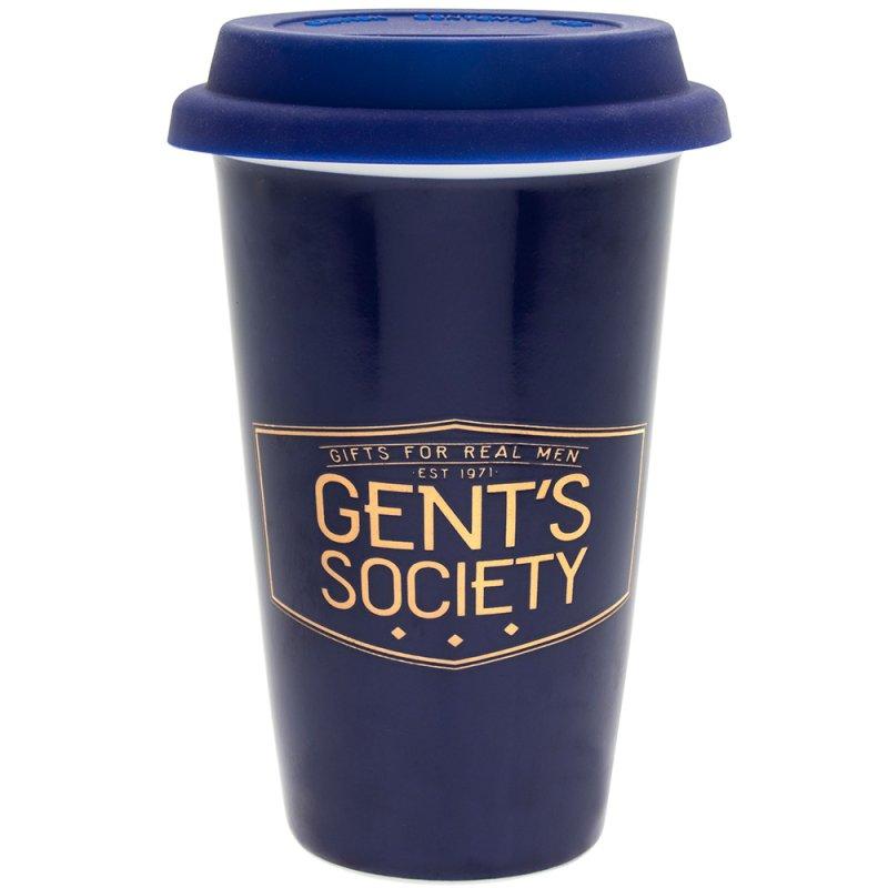 GENT'S SOCIETY TRAVEL MUG