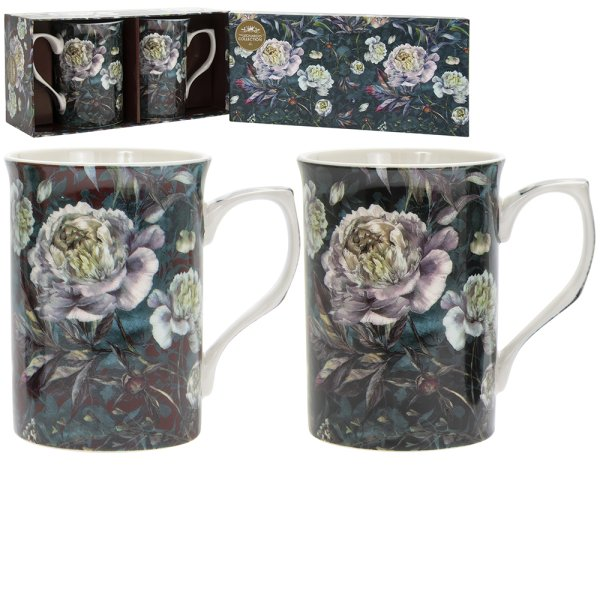 CHRYSANTHEMUM MUGS S2