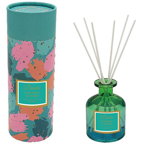 TEAL GLASS DIFFUSER 200ML