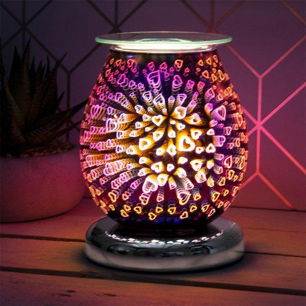 DESIRE AROMA LAMP HEARTS
