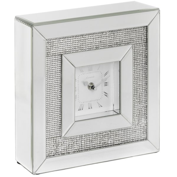 MIRROR MULTI CRYSTAL CLOCK
