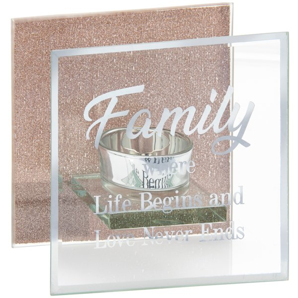 SENTIMENTS TEA LIGHT - FAMILY