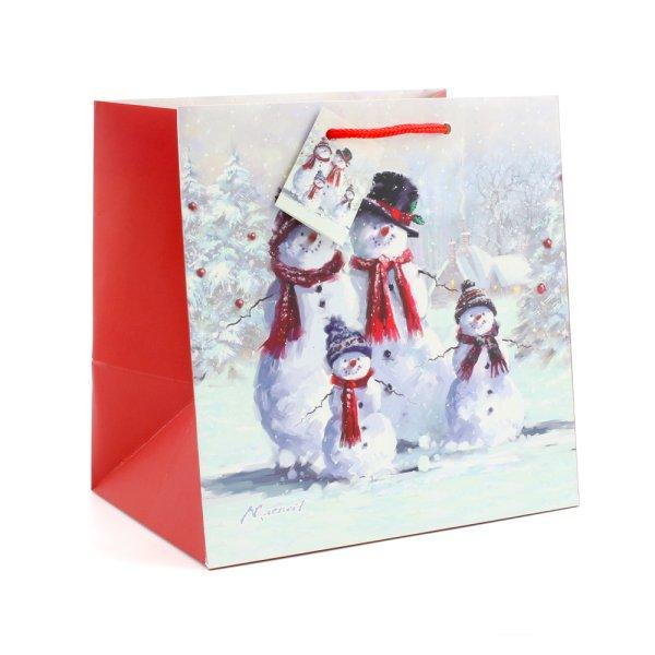 SNOWMAN FAMILY GIFT BAG MEDIUM