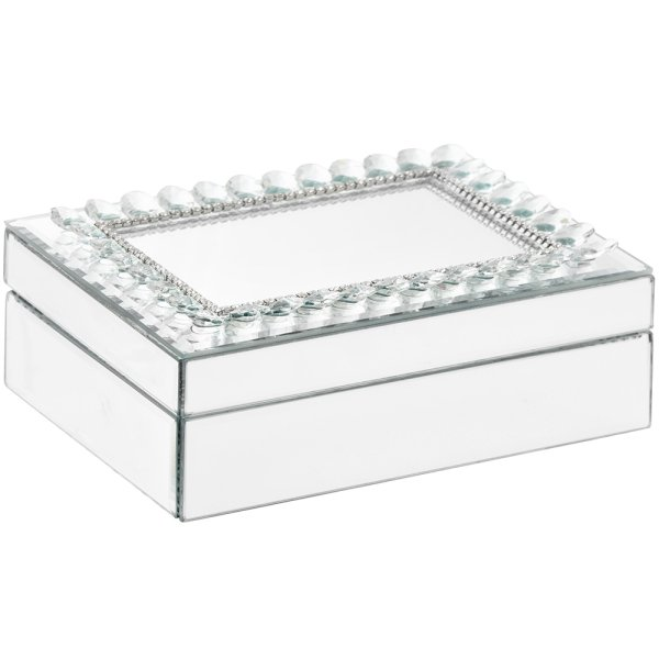 DIAMANTE MIRROR BOX