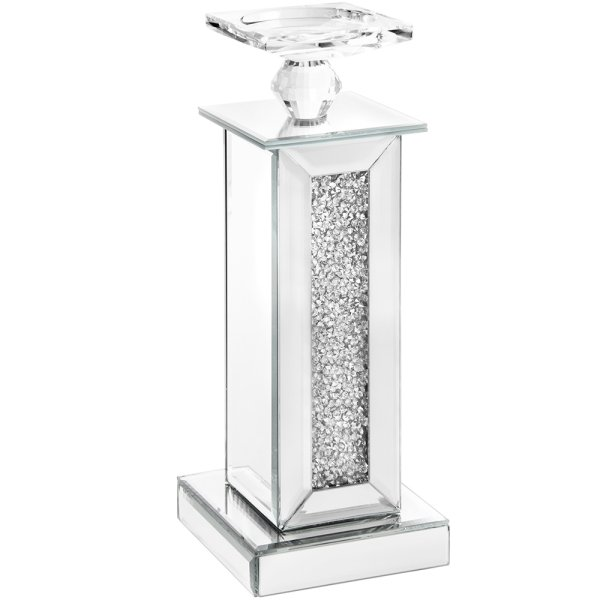 MULTI CRYSTAL CANDLE HOLDER