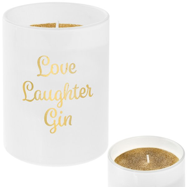 DESIRE LOVE LAUGH GIN CANDLE