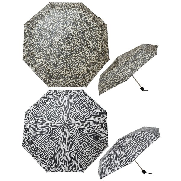 FOLD UMBRELLA ANIMAL PRINT 2A