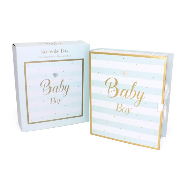 MAD DOTS BABY BOY KEEPSAKES BX