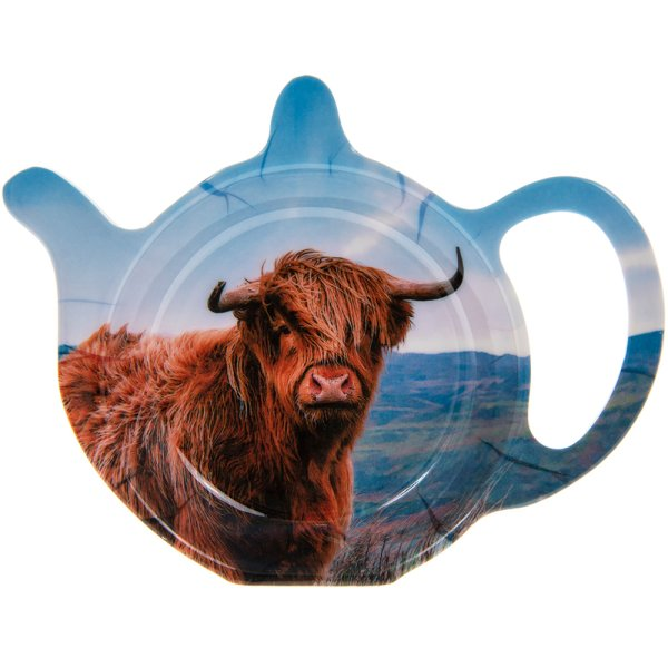 HIGHLAND COW TEABAG TIDY