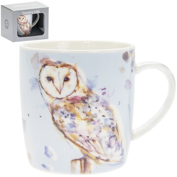 COUNTRY LIFE BARN OWL MUG