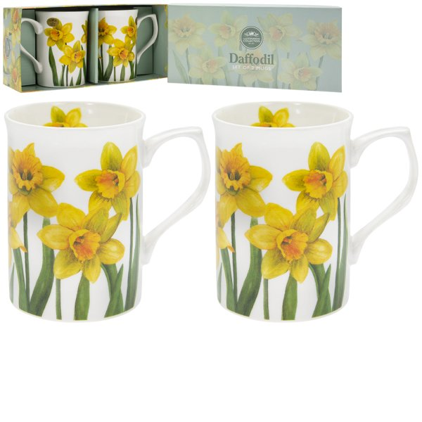 DAFFODIL MUGS 2 SET