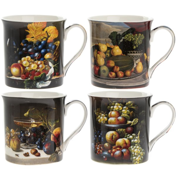 FRUITS MUGS SET 4