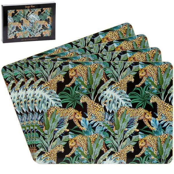 JUNGLE FEVER PLACEMATS S/4