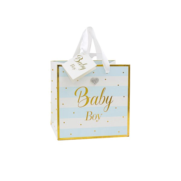MAD DOTS BABY BOY GIFTBAG SML