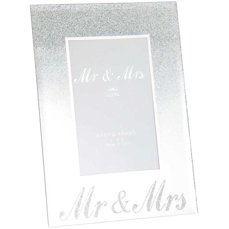 """MIRRORGLITTER MR&MRS FRME 4X6"""""""
