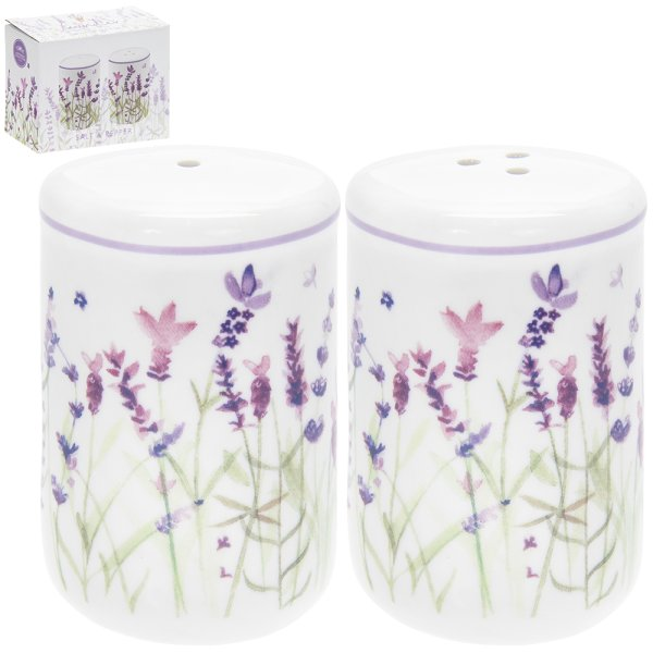 LAVENDER SALT & PEPPER