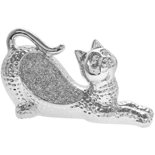 SILVER SPARKLE CAT