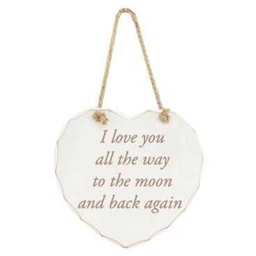 PLAQUES WHITE HEART