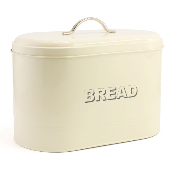 HOME SWEET CREAM BREAD BIN