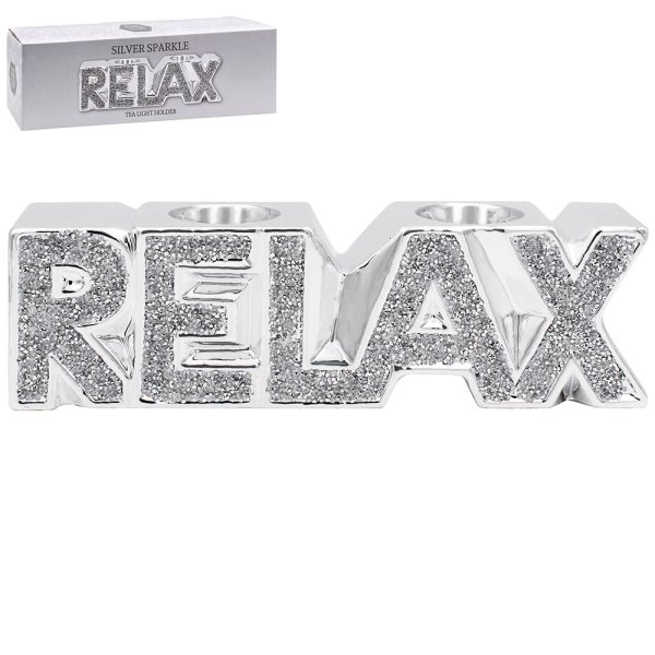SILVER SPARKLE RELAX