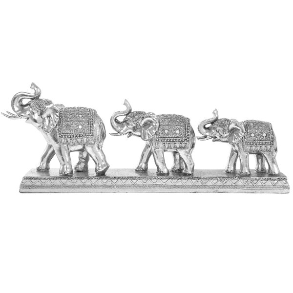 SILVER ART ELEPHANTS 3