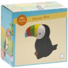 TOUCAN MONEY BOX 2 ASS SMALL
