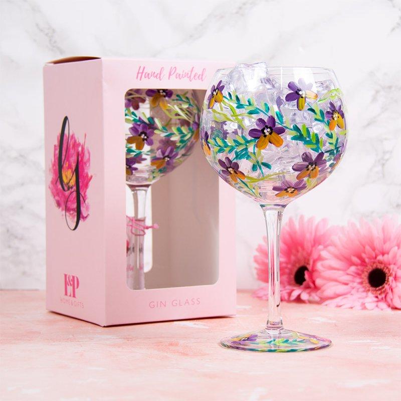 PANSIES GLASS