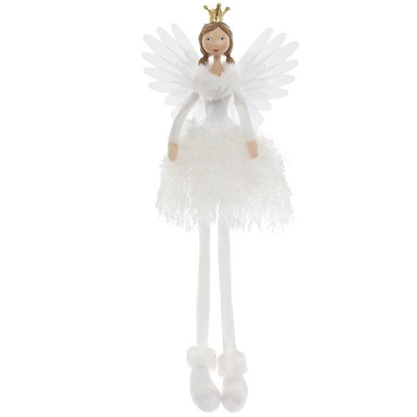 ANGEL SITTING WHITE