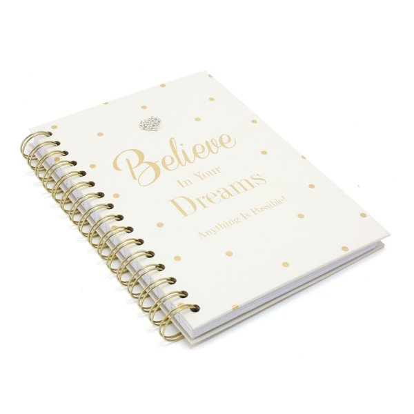 MAD DOTS BELIEVE NOTEBOOK