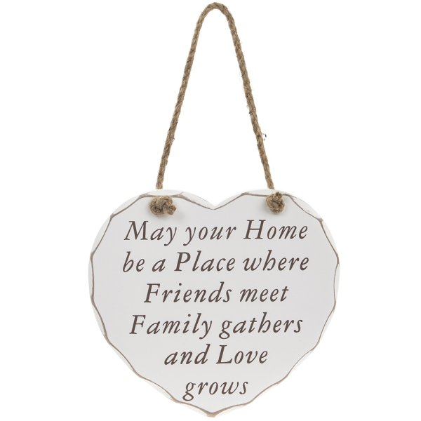 FRIENDS FAMILY LOVE GROWS PLQ