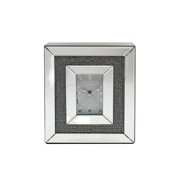 MIRROR CLOCK MULTI-CRYSTAL