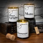 PINOT GRIGIO BOTTLE CANDLE