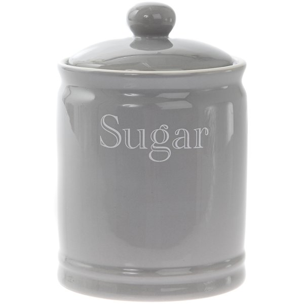 GREY CLASSIC SUGAR CANISTER