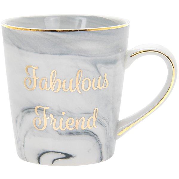 MARBLE FABULOUS FRIEND MUG