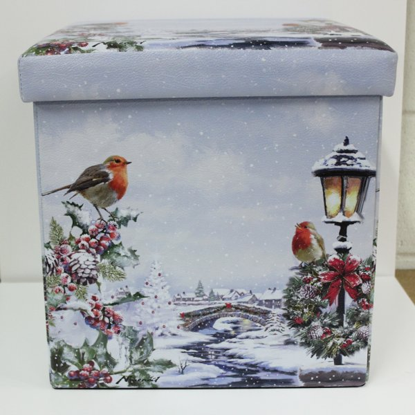 CHRISTMAS ROBINS BOX