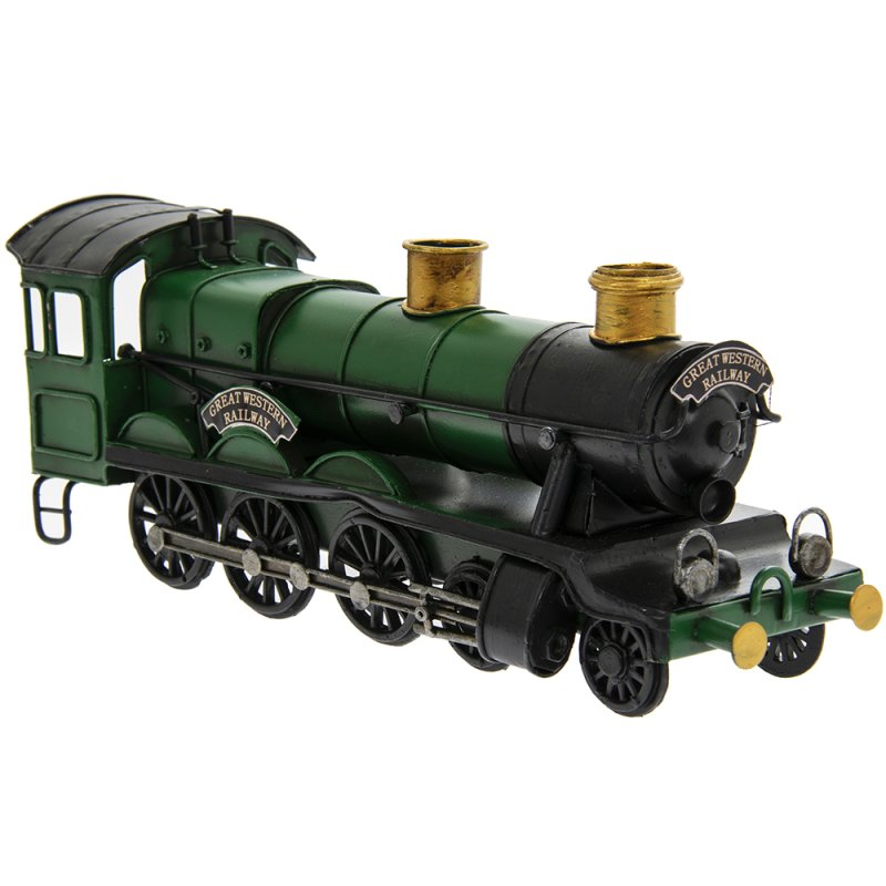 VINTAGE TRAIN GREEN