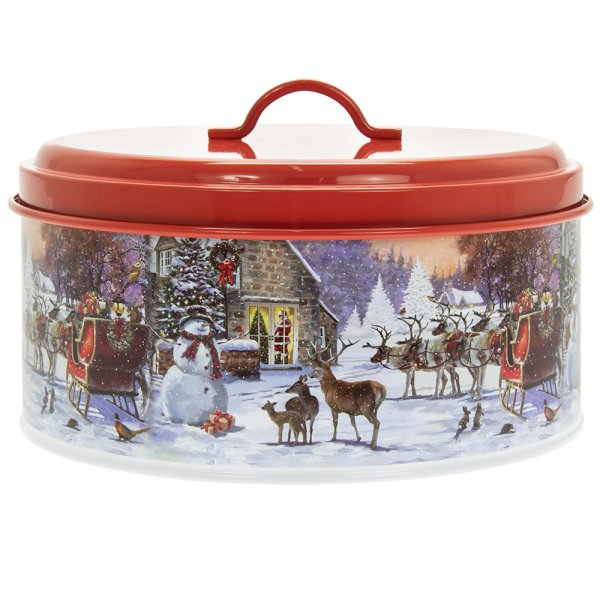 MAGIC OF CHRISTMAS CANISTER L