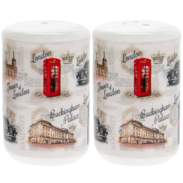 VINTAGE LONDON SALT & PEPPER