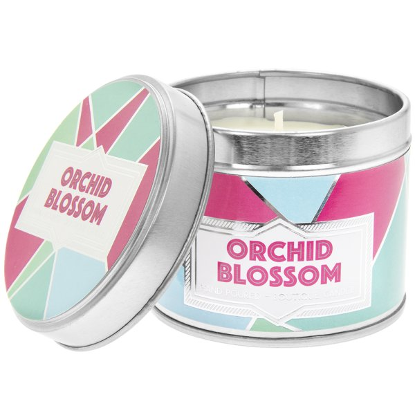DESIRE ORCHID CANDLE TIN