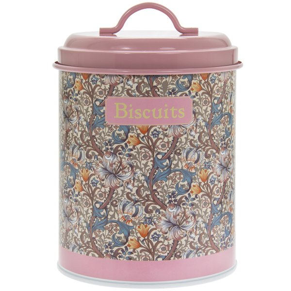 GOLDEN LILY BISCUITS CANISTER