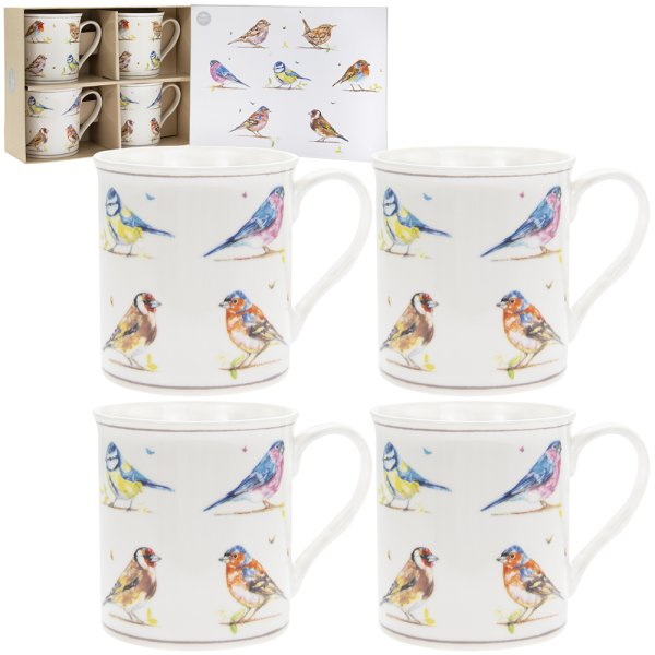 COUNTRY LIFE BIRDS MUG S4