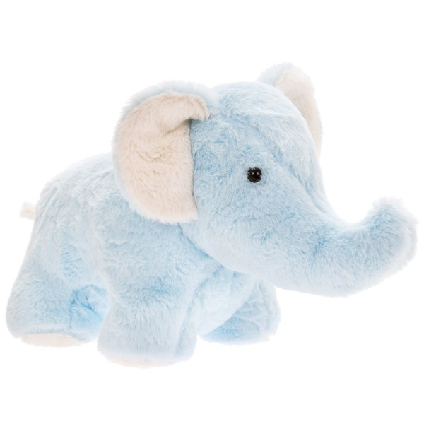 BLUE ELEPHANT DOORSTOP